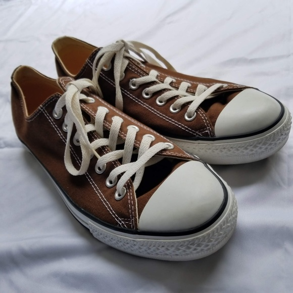 99e26f65aed730 Converse Other - Converse All Star Brown Low Top Shoes Unisex